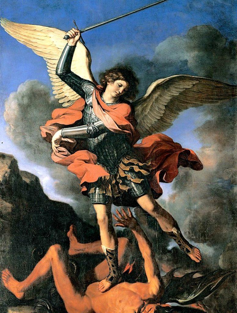 santi da pregare in caso di epidemie - San Michele Arcangelo Guercino