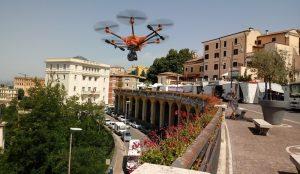 Droni su Frosinone - Drone sulla città