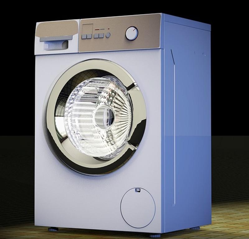 Lavatrice - una lavatrice moderna