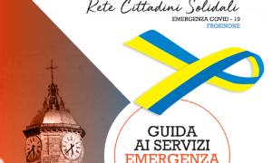 Rete cittadini solidali - Copertina della brochure