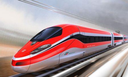 La TAV a Frosinone - treno Frecciarossa
