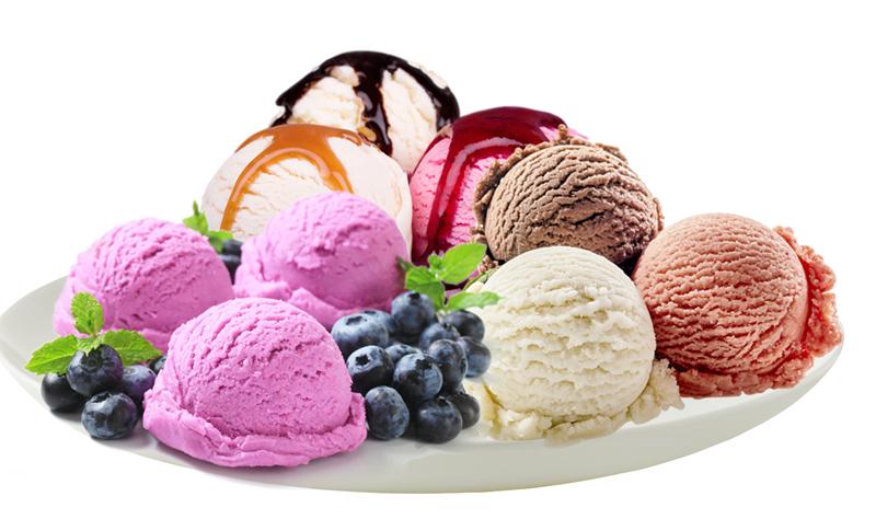 Come fare il gelato a casa - Palline Miste Di Gelato con caramello