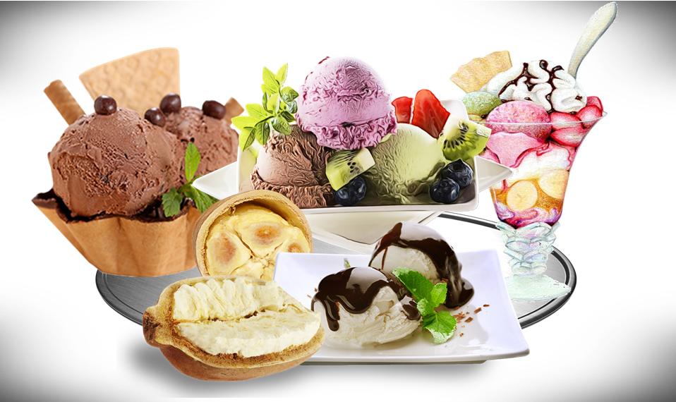 Come fare il gelato a casa - Vassoio Di Gelato