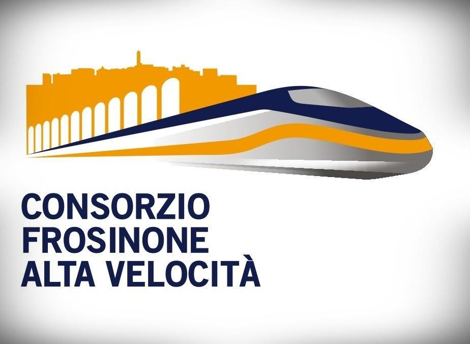 consorzio Frosinone alta velocità - Frosinone Alta Velocita' con il logo