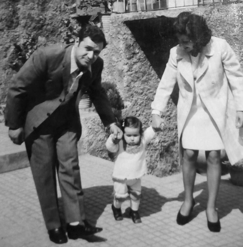 Barbara cupini - Barbara Con I Genitori che fa i primi passi