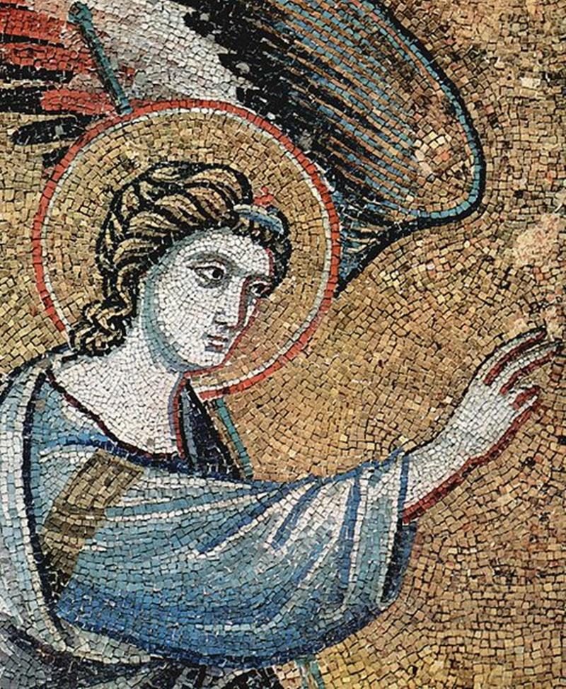 angelo di Boville Ernica - angelo di Pietro Cavallini