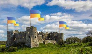 Castello di Selva dei Muli - Castello Con Bandiere ricostruito