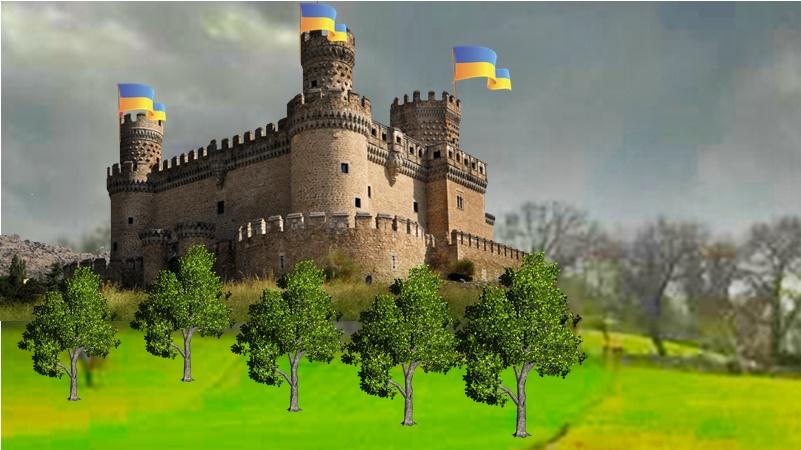 Castello di Selva dei Muli - Collina Selva Dei Muli con castello