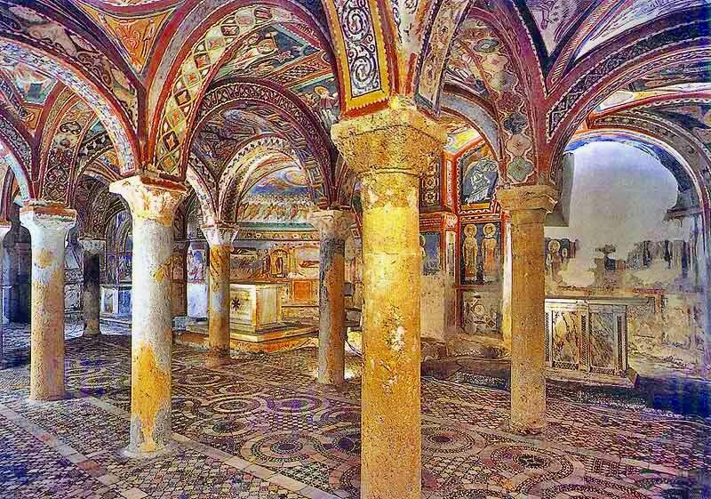la cattedrale di Anagni - Cripta Di Anagni