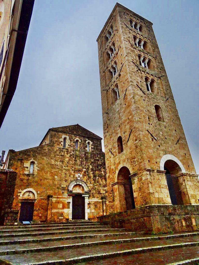 la cattedrale di Anagni - Esterni Della Cattedrale Di Anagni