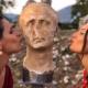 Aquinum -testa di Giulio Cesare