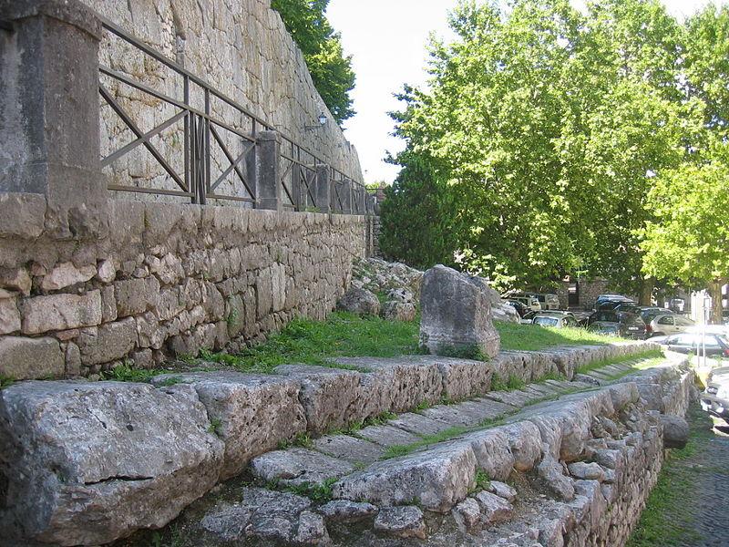 Acropoli di Alatri - Accesso All'acropoli di Alatri