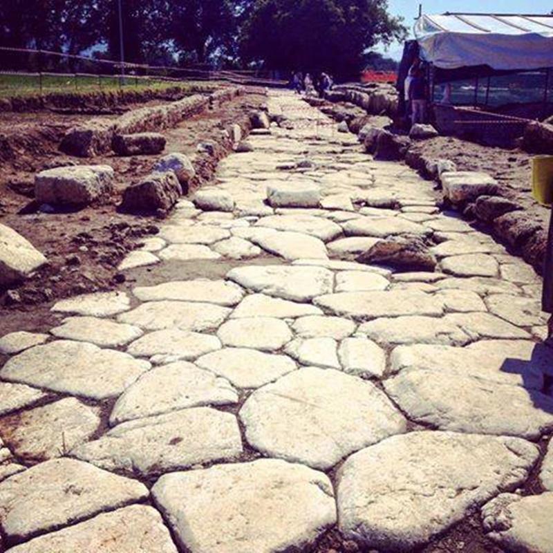 Aquinum - strada romana