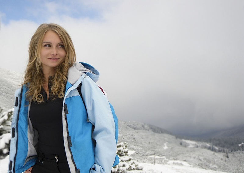 Campocatino non solo sci - ragazza sulla neve