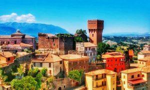 Arnara - foto del castello di Arnara