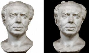 Caio Mario - scultura del personaggio