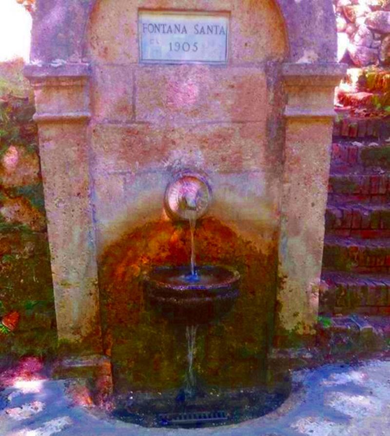 Visitare Filettino - Fontanella antica