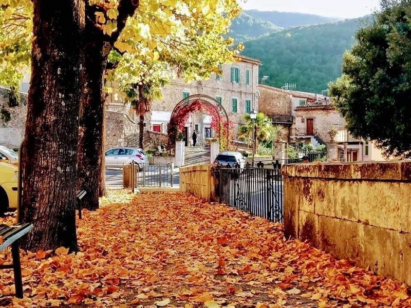 visitare Guarcino - Guarcino In Autunno