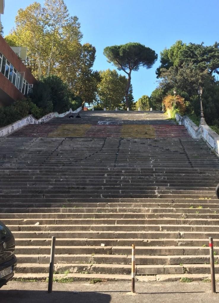 La scalea Del Tamburino - foto della scalea