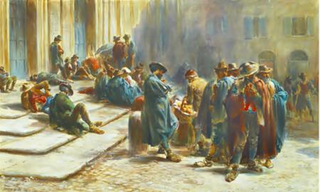 pittura - Halswelle Piazza Consolazione Fattitaliani
