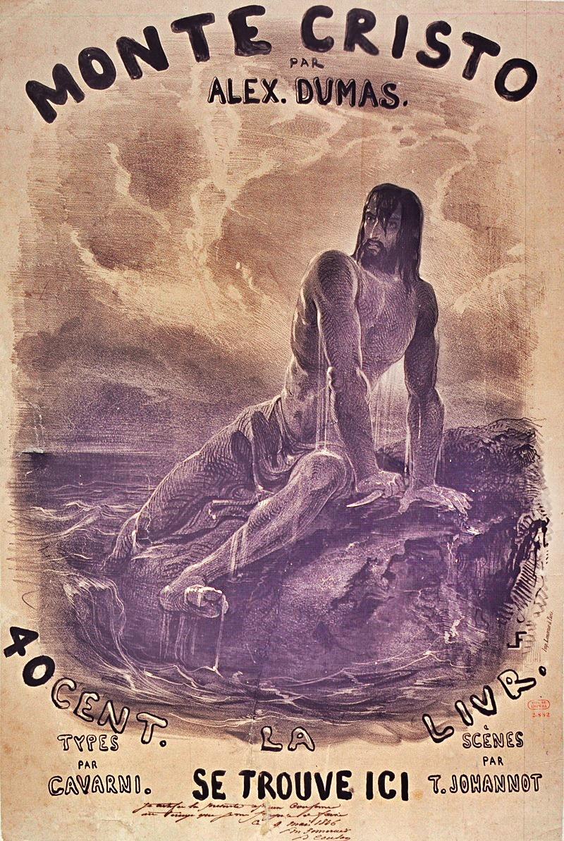 Dumas Il Conte di Montecristo - copertina de Il Conte Di Montecristo
