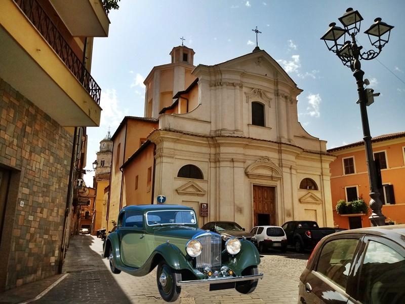 Giornata nazionale del veicolo d'epoca - San Benedetto Con Auto verde
