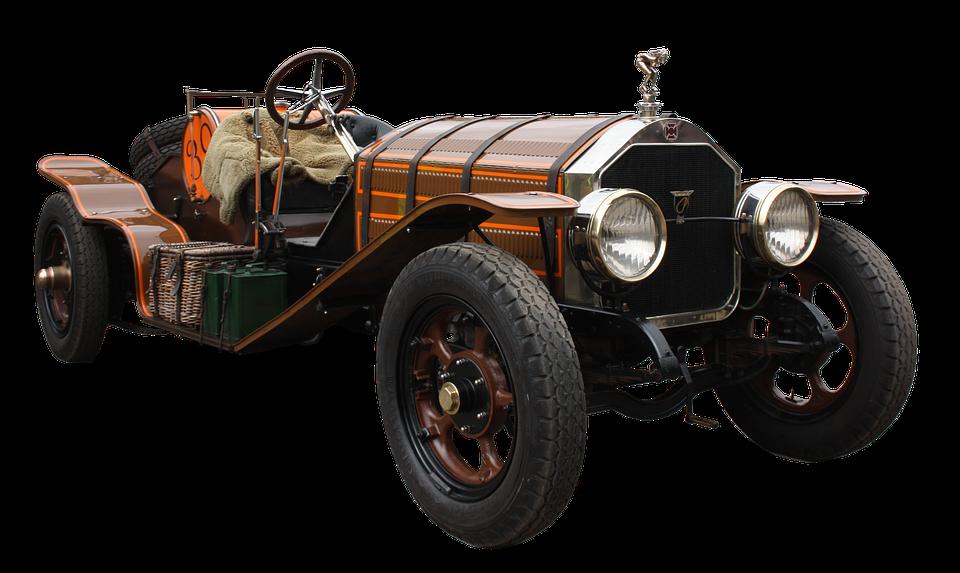 Giornata nazionale del veicolo d'epoca - Auto rossa