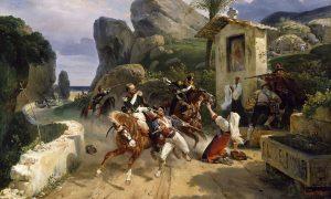Dumas Il Conte di Montecristo - Briganti con le guardie