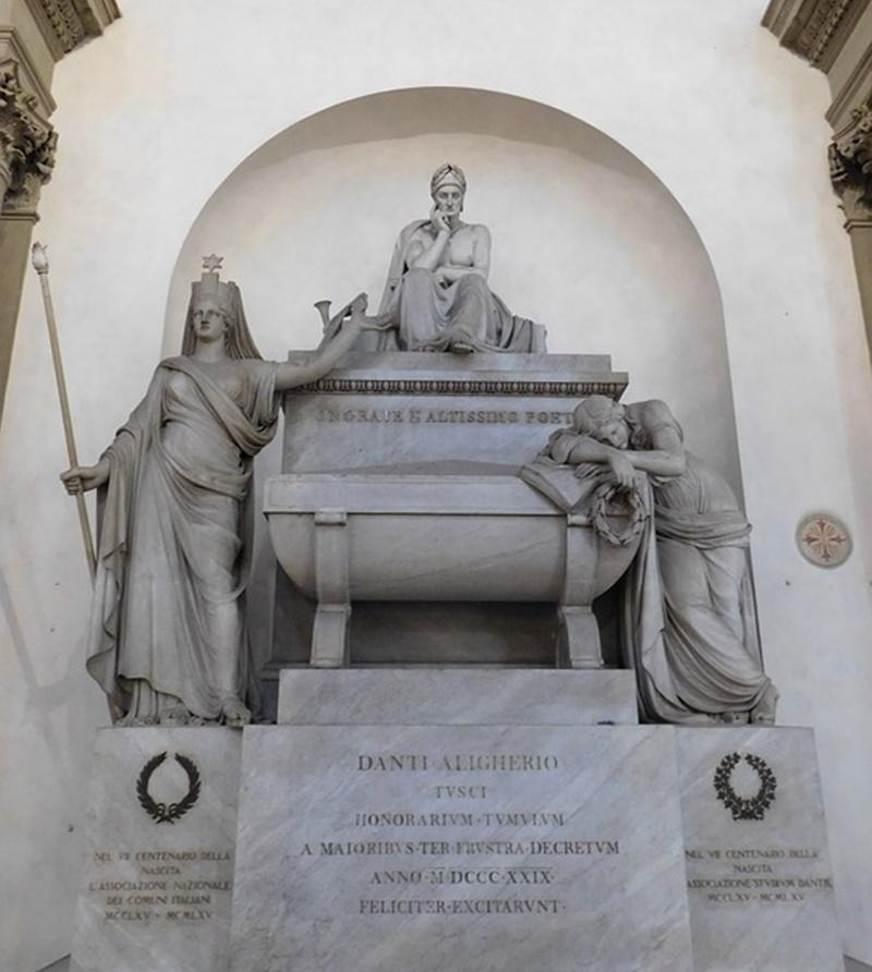 monte Cacume - sarcofago di Dante