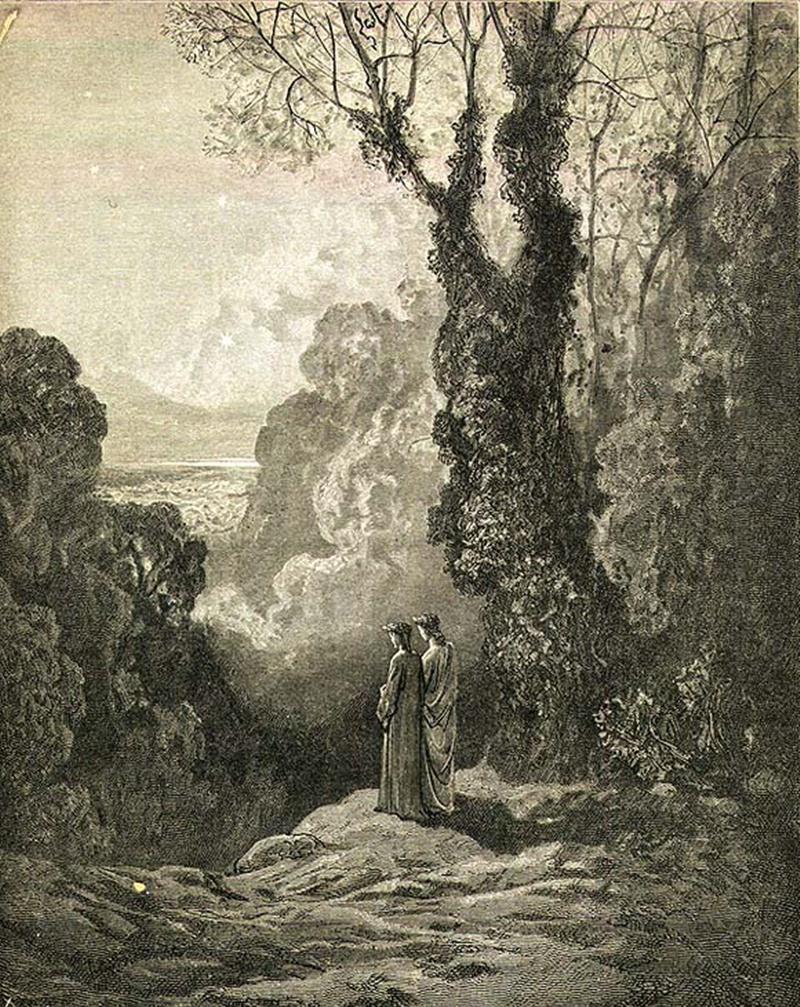 monte Cacume - il Purgatorio