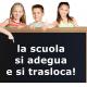 Misure anti #Covid-19 a scuola - scolari alla lavagna