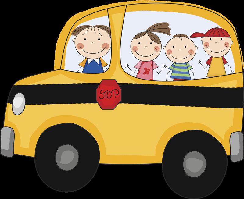 Misure anti #Covid-19 a scuola - Scuolabus cartoon