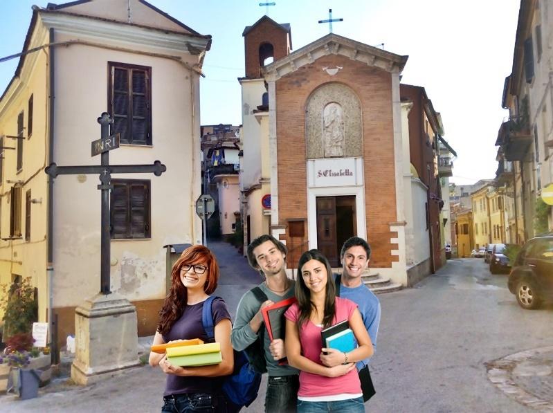 Borse di studio a Frosinone - alcuni studenti in posa