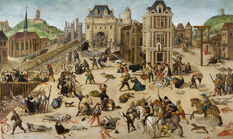 Il Massacro Di S. Bartolomeo a Parigi