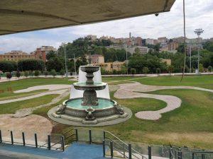 Fontana artistica al Matusa - Leone Con Fontana al Matusa