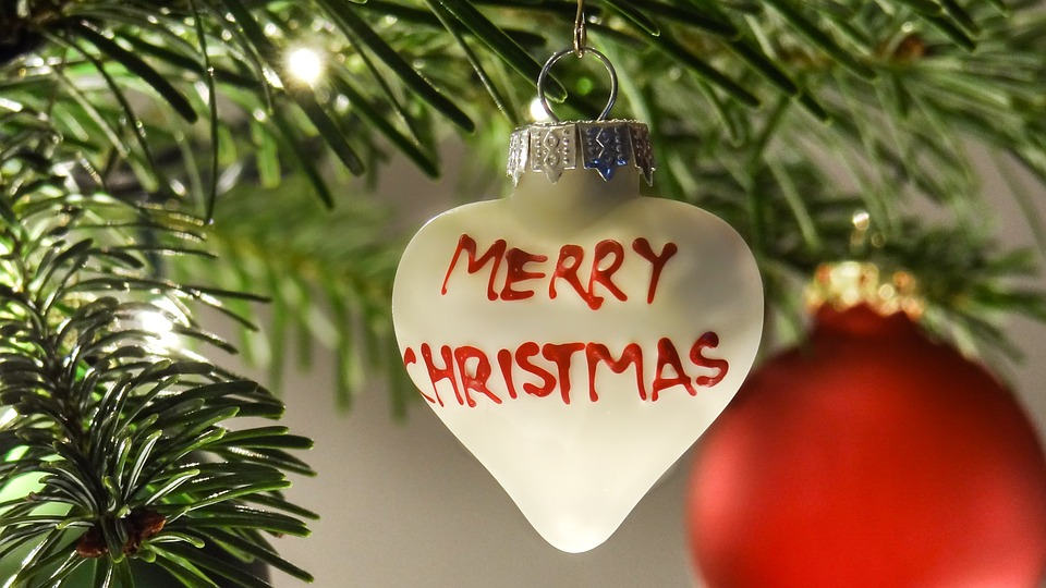 Addobbi natalizi in anticipo - Addobbi appesi all'albero