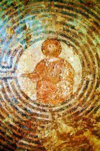 il Cristo nel labirinto - Cristo nell0'intercapedine di Alatri