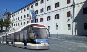 Metropolitana di superficie frusinate - il tram elettrico al distretto