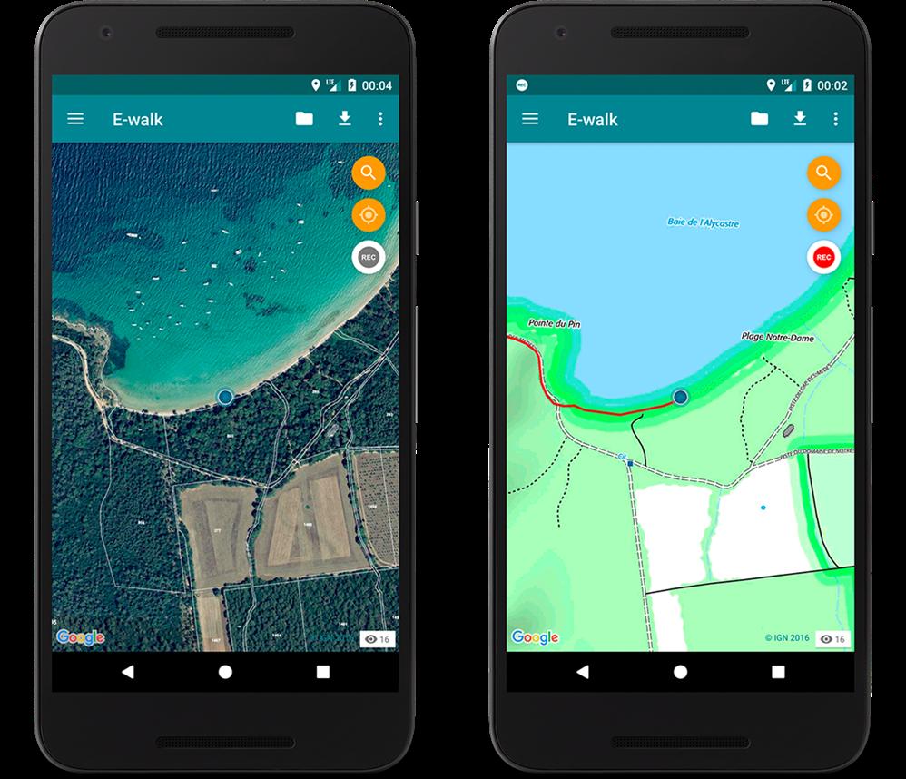 App anti #Covid-19 - Due Smartphone con geo localizzazione