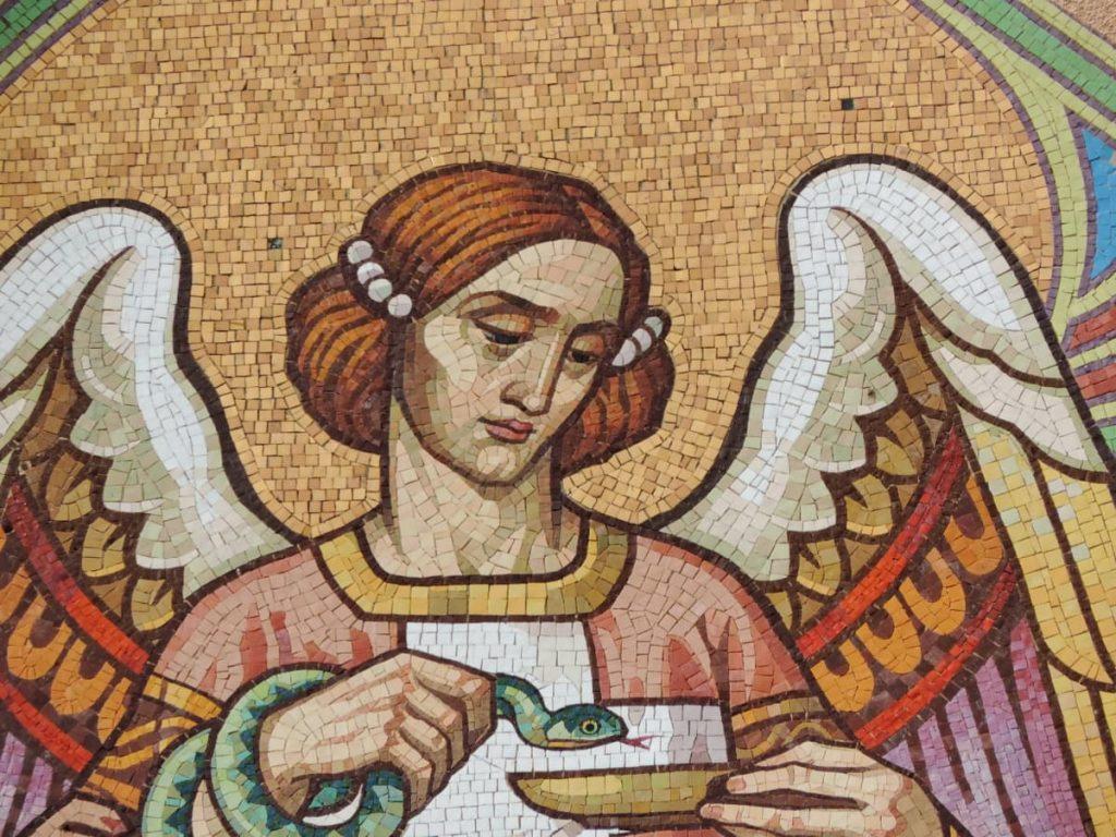 Frosinone città delle arti - Mosaico con Angelo