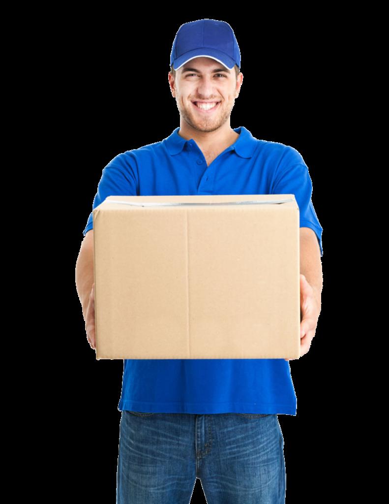 Valore Comune - Operaio che fa una consegna