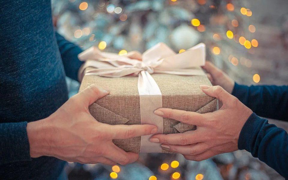 Regali di natale - scambio di doni
