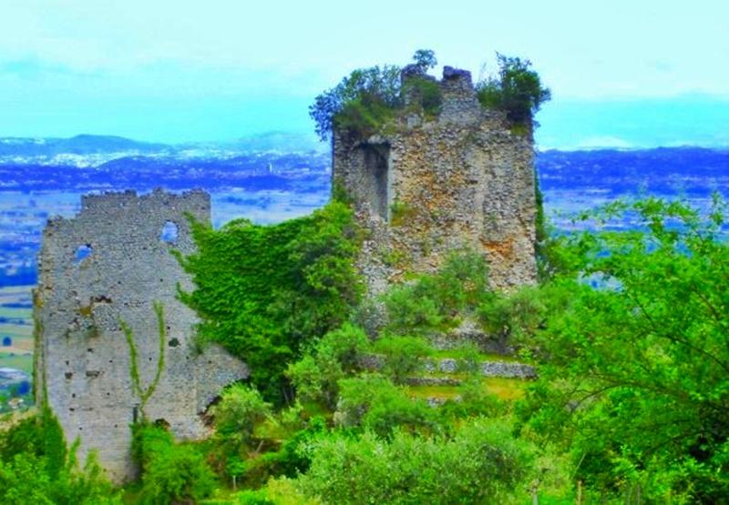 Morolo - Rovine del castello
