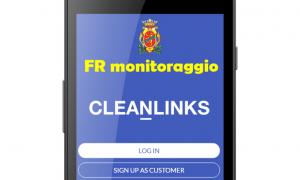 App anti #Covid-19 - Sfondo Bianco per app di Frosinone