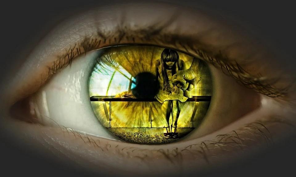 occhio - occhio evocativo di violenza