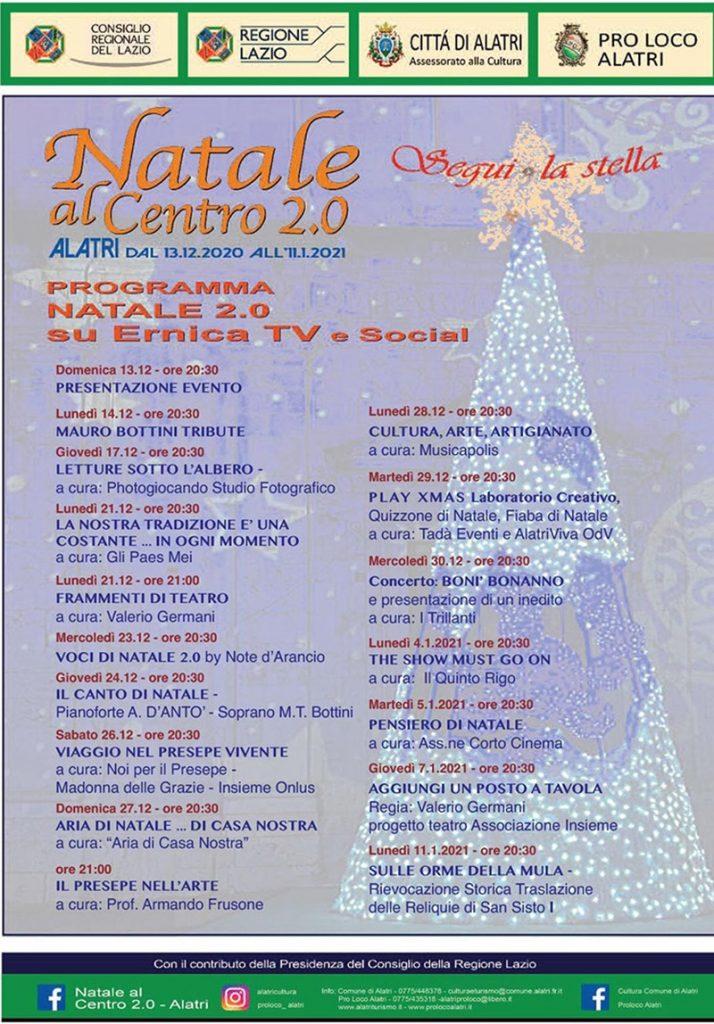 Natale di Acuto - Programma di Alatri