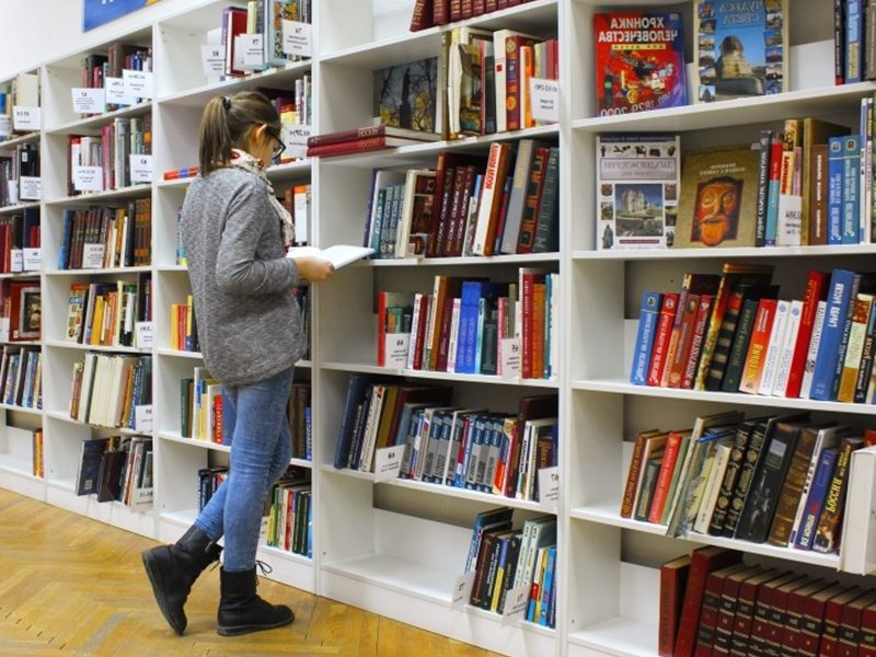 Archivio storico comunale - Archivio nella zona biblioteca