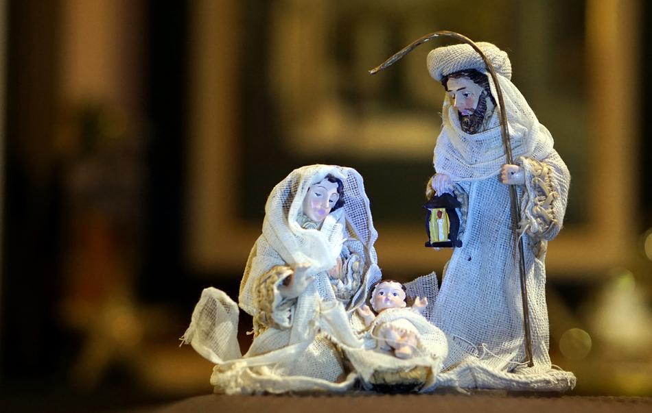 Natale insieme - Natività con sacra famiglia