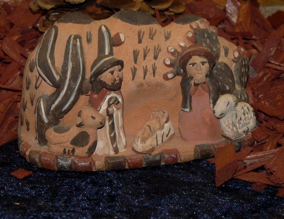 Natale insieme - Natività con materiale di riciclo