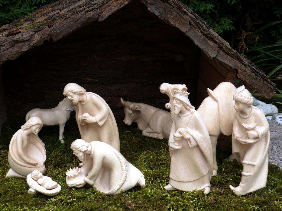 Natale insieme - Natività artigianale
